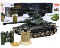 T-34-es festett Tank a Bunker ellen 1:28