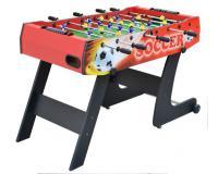 Csocsó asztal piros színben