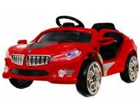Cabrio akkumulátoros kisautó-piros