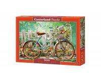 500 darabos kirakó Bicikli a virágoskertben