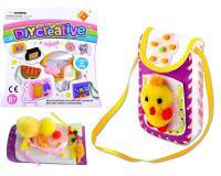 Kiskacsás telefontok/kistáska kézműves készlet gyermekeknek