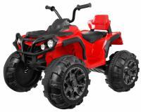 ATV 2.4Ghz piros akkumulátoros quad