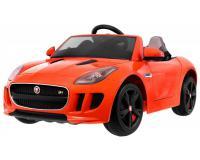 Jaguar F-Type R elektromos kisautó - narancssárga színben