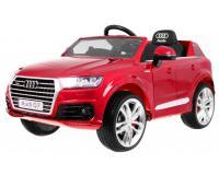 Audi Q7 elektromos kisautó lakkozott - piros színben