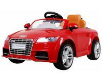 Audi TT Roadster elektromos kisautó - piros színben