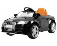 Audi TT Roadster elektromos kisautó - fekete színben