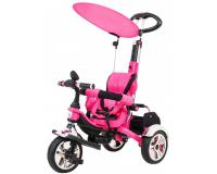 SporTrike Classic AIR tricikli rózsaszín színben