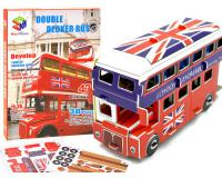 3D Double Decker busz puzzle