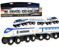 Fából készült expressz vonat