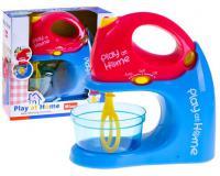 Játék kézi mixer piros-kék